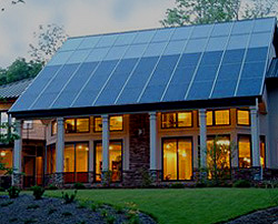 design associates all solar house in a hot humid climate - Zero Energy Home Design