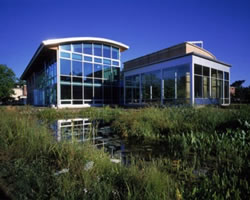 A zero-energy academic building, Oberlin College, PV design by Solar Design Associates