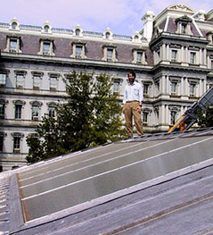 SDA engineered two solar thermal systems for the White House