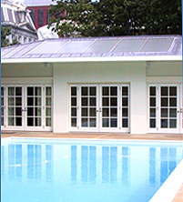 Solar thermal systems heat the White House pool and spa